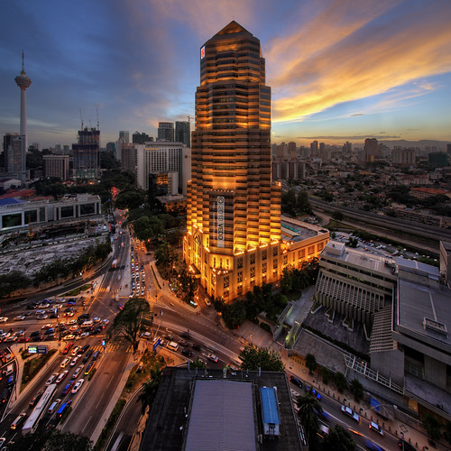 sunset architecture buildings cityscape malaysia kualalumpur hdr canonefs1022mm publicbank vertorama vedd canoneos60d