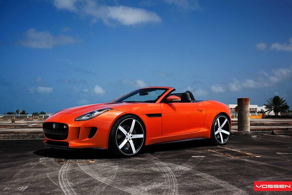 After The Sunset 2014 Jaguar F Type Vossen Introduced Myg37