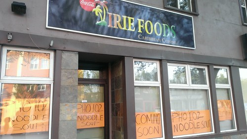 Irie Foods will soon be a pho place