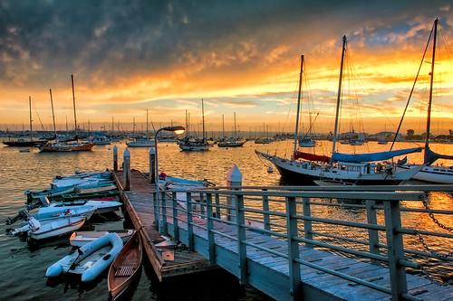 San Diego Bay All Lit Up by mojo2u