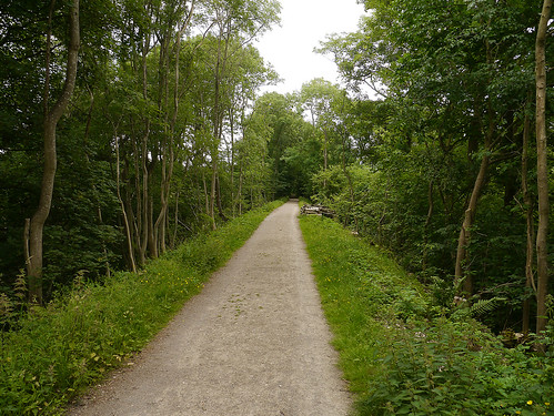 Pubic footpath along the old North Eastern Railway line (formerly the South Durham and Lancashire Union railway) from Darlington to Tebay