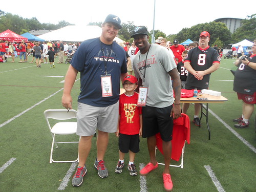 Trey with Ben Jones and Tavarres King