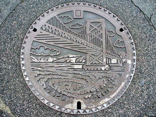 Naruto Tokushima , manhole cover 3 (徳島県鳴門市のマンホール3)