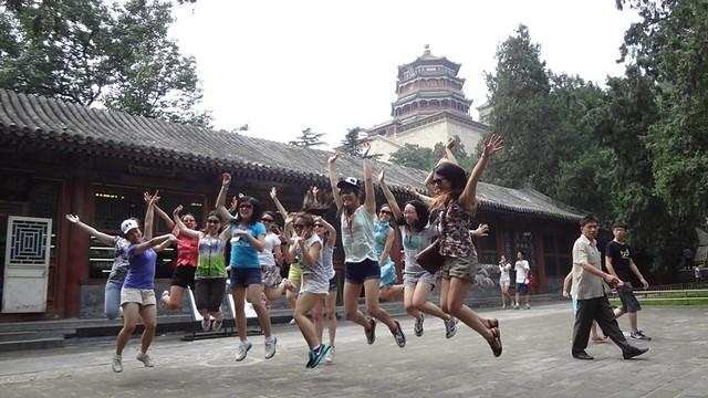 Day 4: Summer Palace Jumping Girls