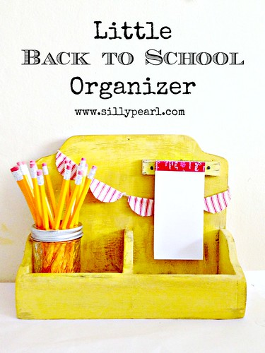 Little Back to School Organizer - The Silly Pearl