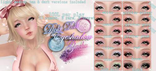 .tsg. Doki Doki Eyeshadow Gacha by ⓢⓤⓖⓐⓡⓟⓛⓤⓜ™