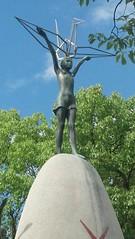 Památná socha Sadako
