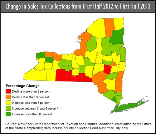 What Is The Sales Tax In New York >> The Southern Tier S Economic Troubles In One Map Comment Page 1