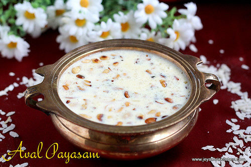 AVAL PAYASAM-WITH SUGAR
