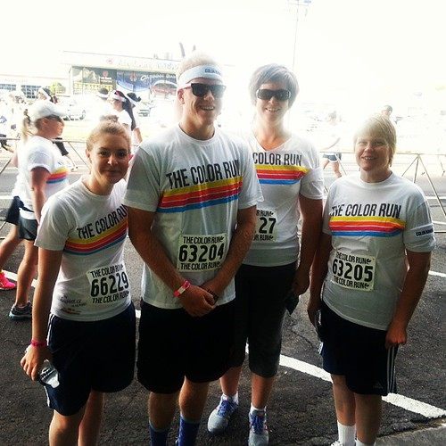 #thecolorrun @willie_petersen44 @redemj #andhaley