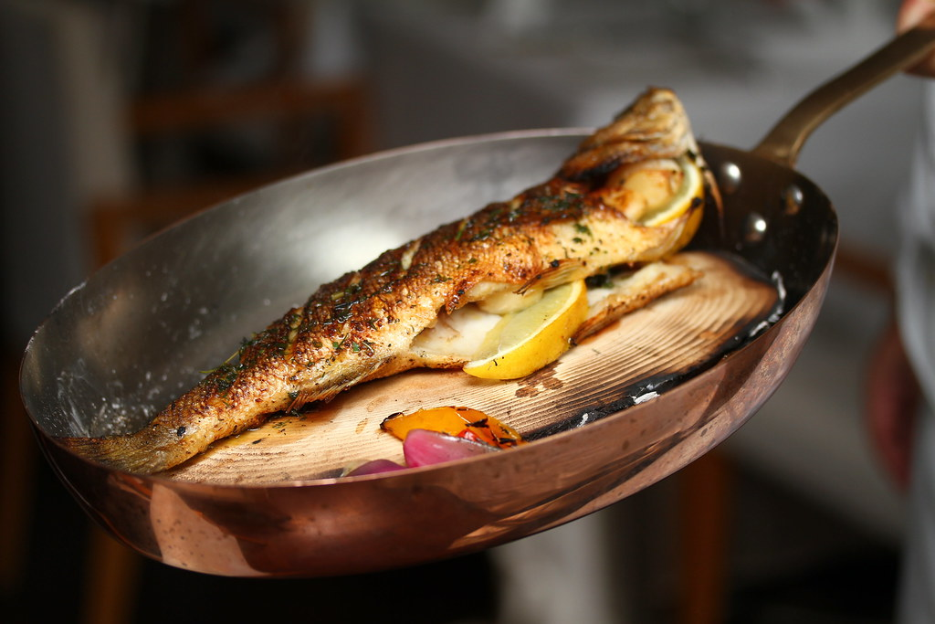 The Lighthouse: Roasted Whole Seabass