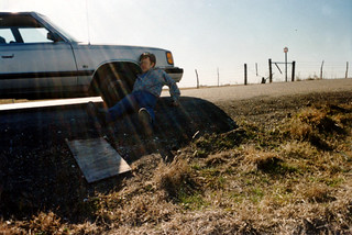 Flat Tire in Waco near Branch Davidians