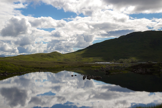 The Mirror Lake - Scottish Highlands