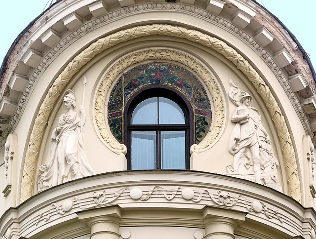 Riga Jugendstil 49 Teātru Iela 9 Flickr Photo Sharing