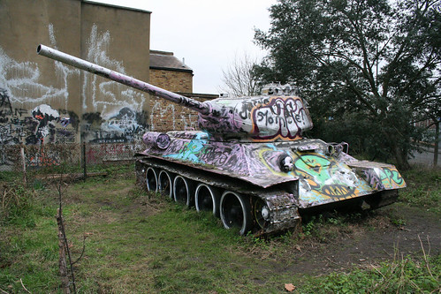Soviet Tank in South London