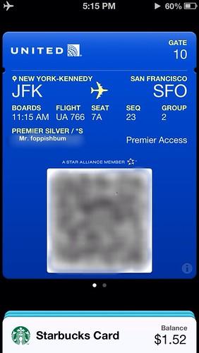 UA766/6410 JFK-SFO-BUR
