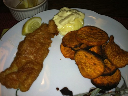 The Bitten Word: Fish and Chips with Malt Vinegar Mayonnaise