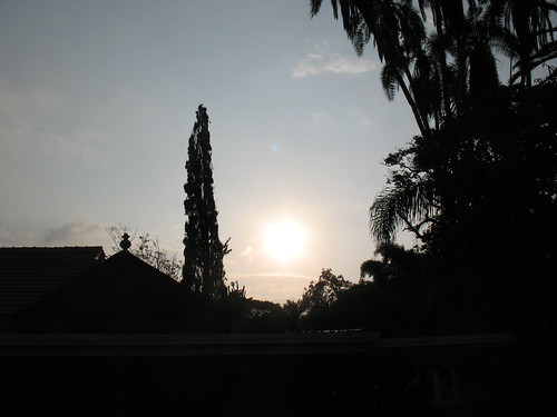 light sunset sky sun house gardens museum kenya nairobi karen silhoette karenblixen blixen karenblixenmuseum kenya2013