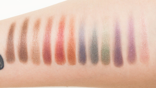 Jewel of an Eye - swatches without primer