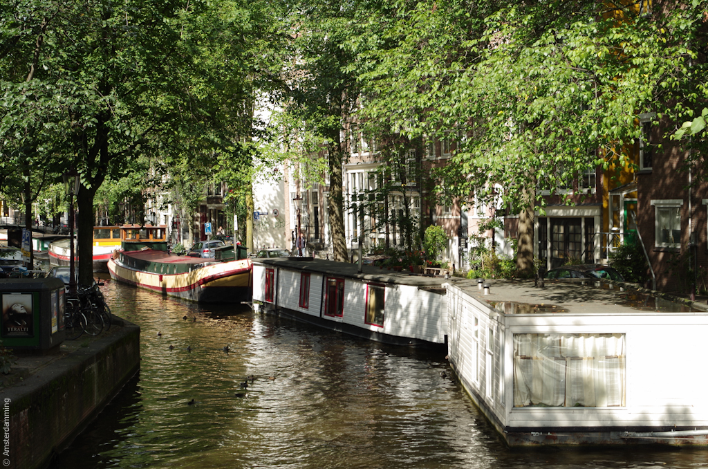 Amsterdam, Canal and Houses