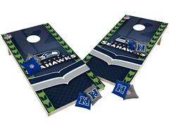 Seattle Seahawks Custom Cornhole Boards XL