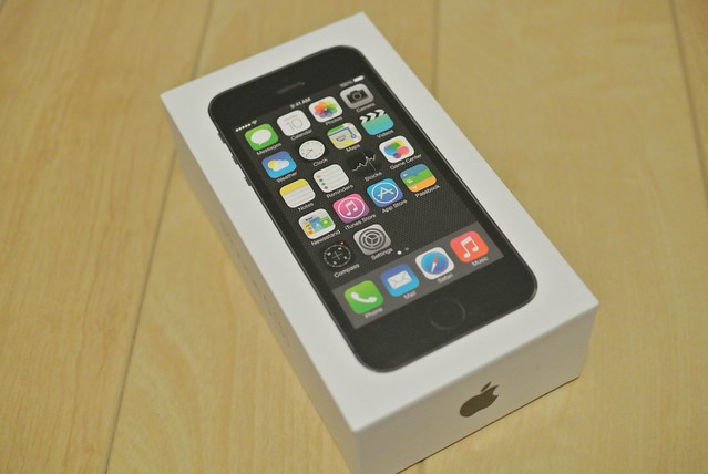 iPhone 5Sとアクセサリー
