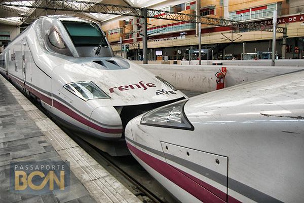 AVE, o trem bala espanhol