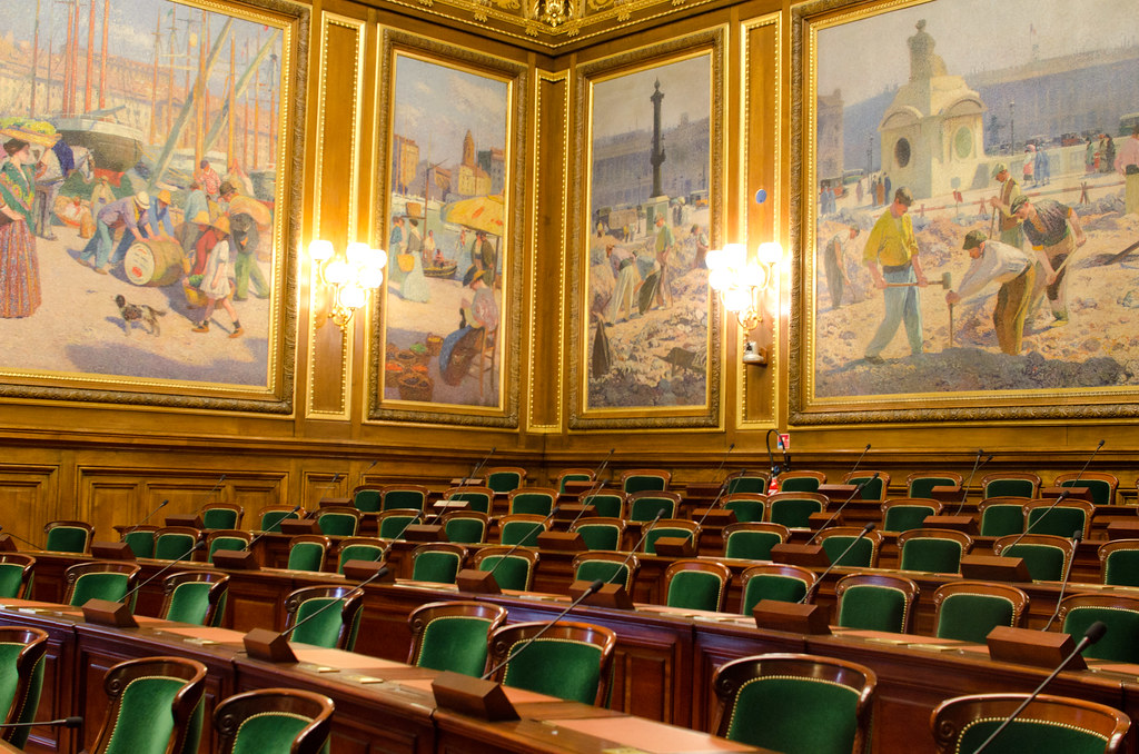La salle d'assemblée générale