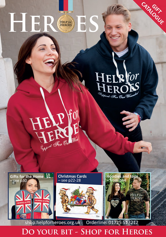 Help For Heroes Catalogue - Autumn 2013