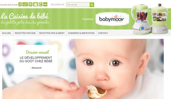 Blog Cuisine de bébé