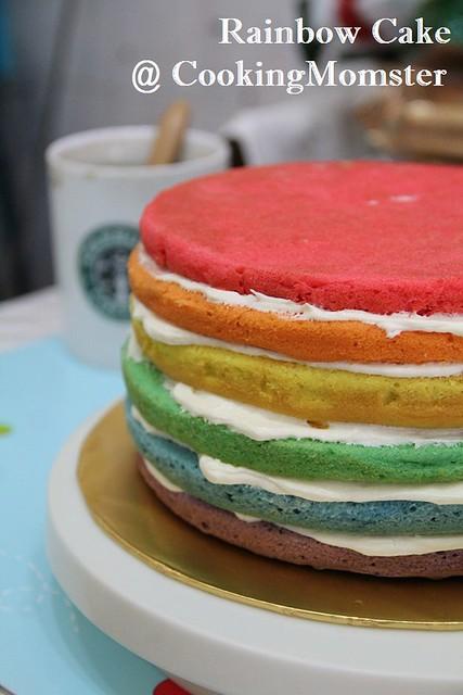 Rainbow Cake a