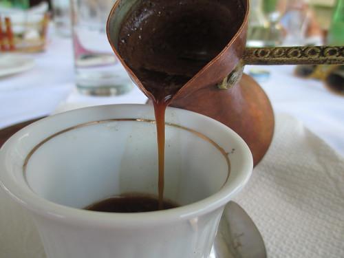 Il rito del caffè turco