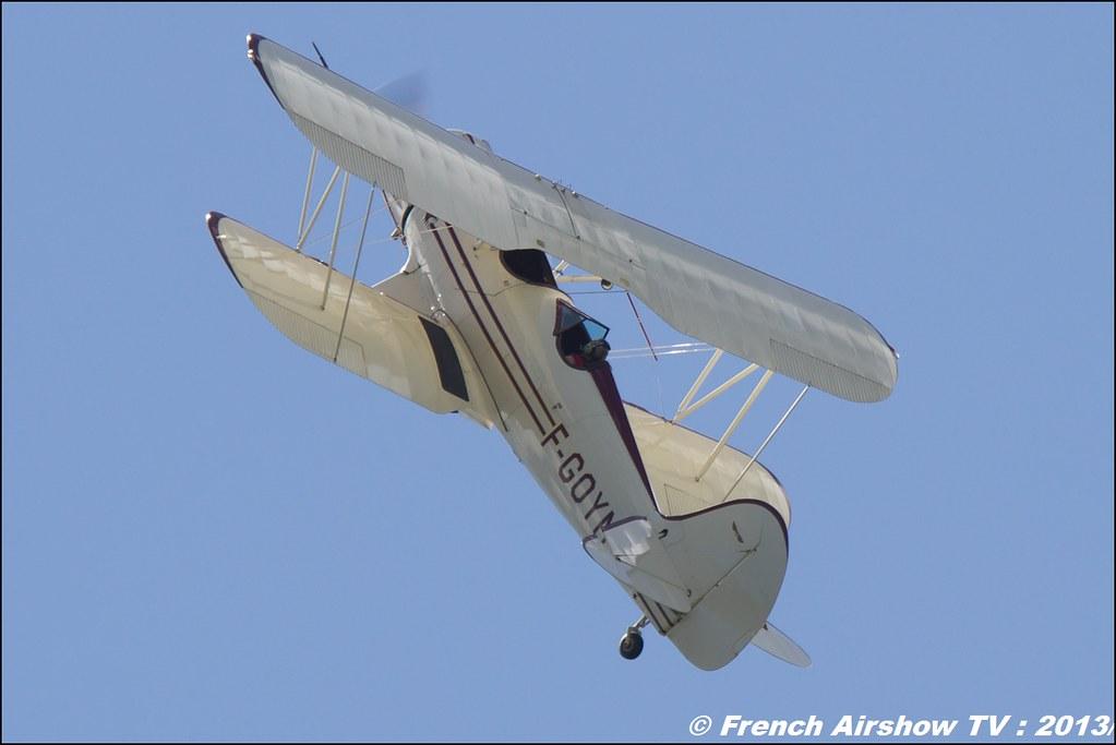 WACO F-GOYM, Meribel Air Show 2013