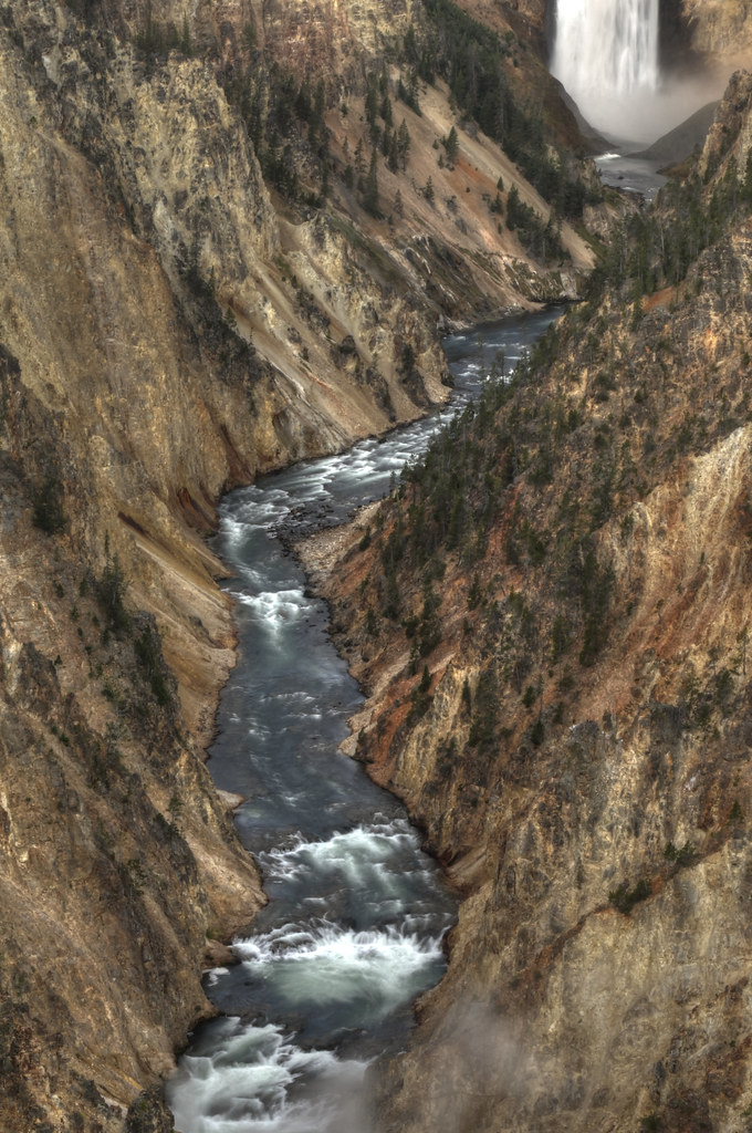 The Grand Canyon of the Yellowstone HDR