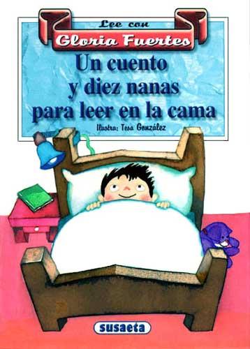Cubierta de Un cuento y diez nanas para leer en la cama