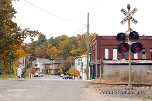 Downtown Montague by Paula Stephens