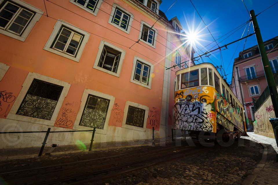 Funicular @ Lisbon, Portugal