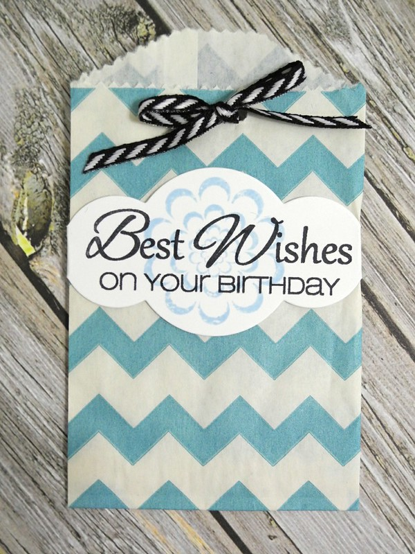 Best Wishes Gift Card Bag