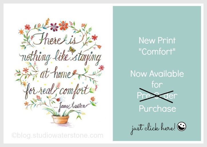 Jane Austen Quote Print to Purchase