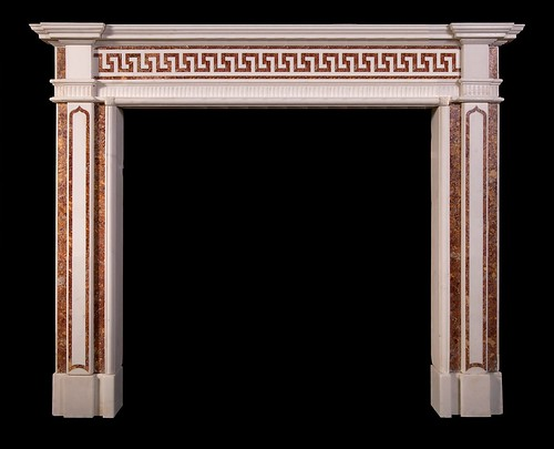 Neoclassical Eton Square fire surround by stephencritchley
