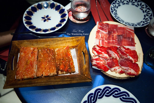 Course 5-7: Joselito's Coppa and Iberico served with pan con tomate