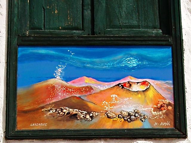 Lanzarote Painting, Santiago del Teide, Tenerife
