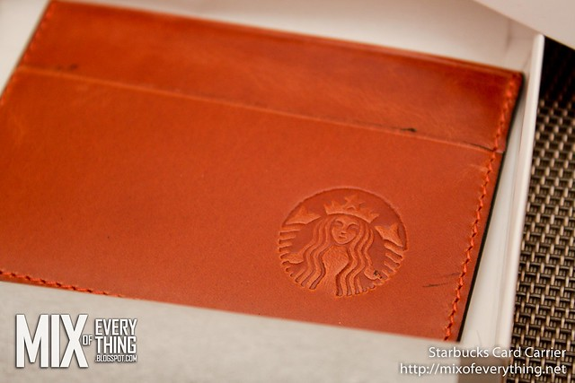 Starbucks Card Carrier