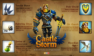 Castlestorm on PS3 and PS Vita