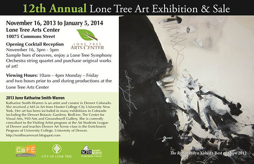 12th Annual Lone Tree Arts Invitation