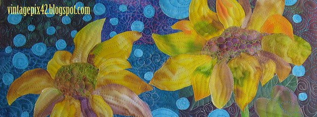 "Detail of ""Three Sunflowers"""