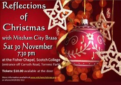 Mitcham City Brass - Reflections of Christmas 2013, http://www.mitchamcitybrass.org/