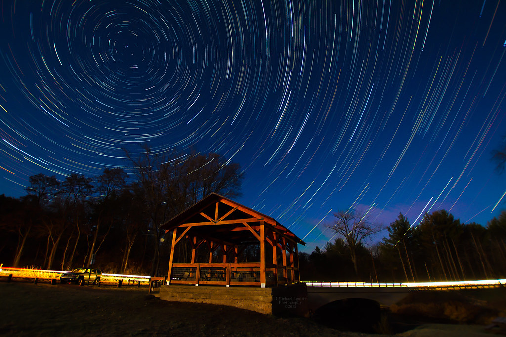 Kost Dam Star Trails