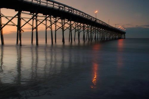 Dawn on the Fishing Pier