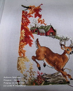 100_8985 - Autumn Splendor - Designer - Stoney Creek - Progress 11-25-2013